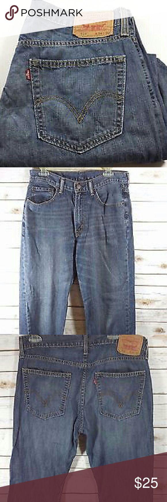 Levi's 514 Slim Straight Fit Jeans Size 34x30 Levis 514 Slim Straight Fit Jeans Size: 34x30 100% Cotton Levi's Jeans Slim Straight