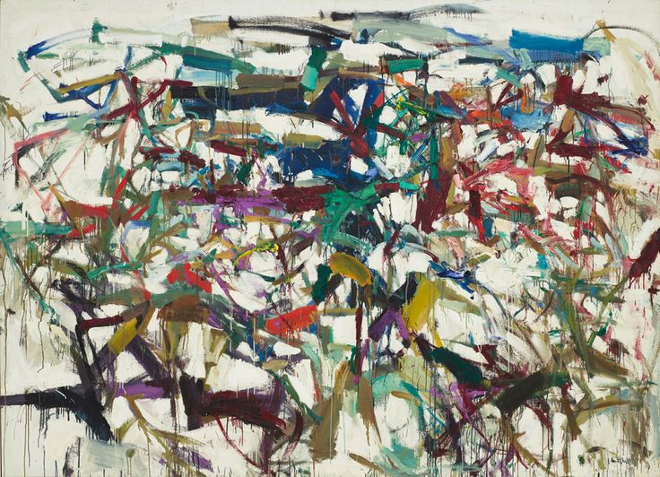 Joan Mitchell, Ladybug, 1957. The Museum of Modern Art, New York. Purchase.    © Estate of Joan Mitchell.