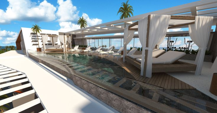 Oceana Residence - Koh Samui condo - rooftop pool