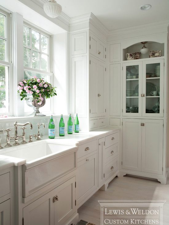 100 Ideas To Try About White Kitchen Addiction White Kitchen Cabinets Countertop And Glass Cabinets