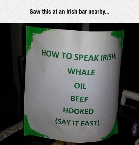 How to speak Irish                                                                                                                                                                                 More