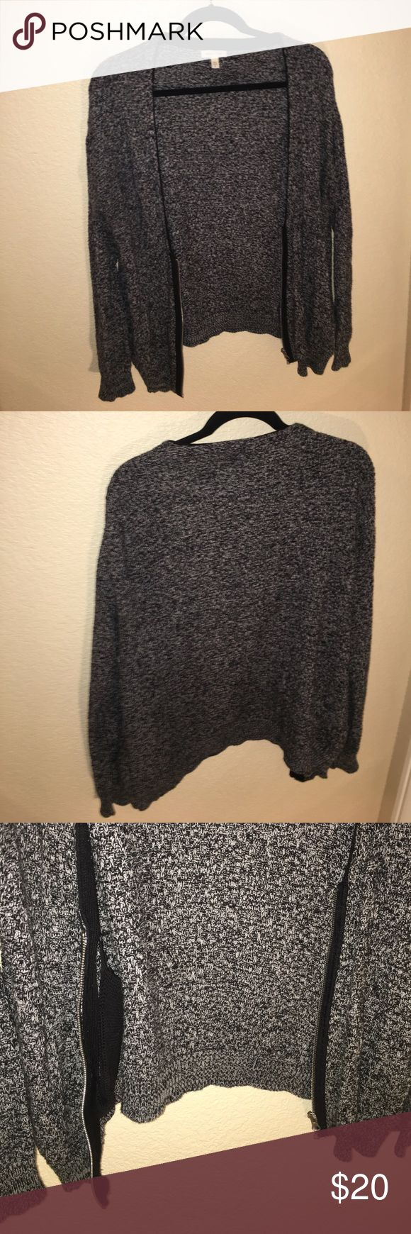 Salt n Pepper Urban Outifitters sweater zip up Soft and warm jacket. Zips up. Good condition no damage. Purchased from Urban Outfitters silence + noise Jackets & Coats