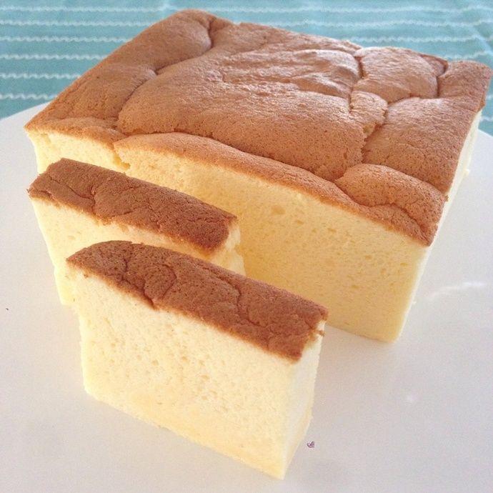 Japanese Cotton Cheesecake Recipe - RecipeYum