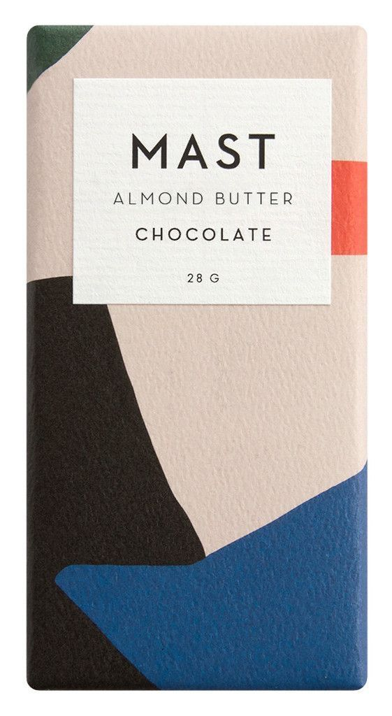 Nathan Warkentin / Mast / Almond Butter Chocolate / Packaging / 2016
