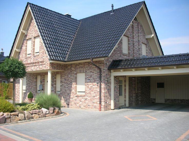 Klinkerriemchen / Handform Riemchen K806R-WDF / Klinker / Fassade / rot braun bunt antik – Mandy J.