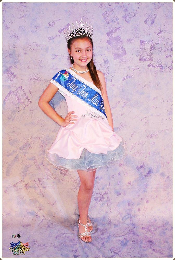 Tiny Teen Miss RSA 2015 - Winner Monique Cilliers