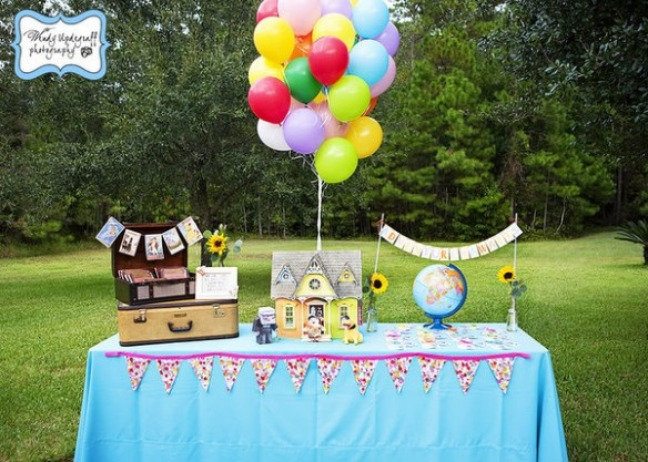 Disney's 'Up' themed birthday party!
