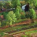 Monticello is the autobiographical masterpiece of Thomas Jefferson—designed and redesigned and built and rebuilt for more than forty years—and its gardens were a botanic showpiece, a source of food, and an experimental laboratory of ornamental and useful plants from around the world. #monticello #garden #travel