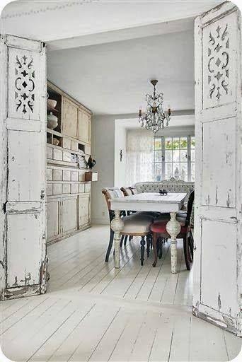 Love the floors and doors