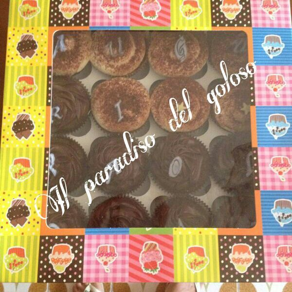 le mie confezioni per cupcake #CUPCAKE #halloween #solocosebuone #bakery #torte #cake #yummy #sugar art #patisserie #desserts #sweettooth #chocolate #eat #yum #delicious #tasty #hungry #yum #icecream #foodpics #TagsForLike