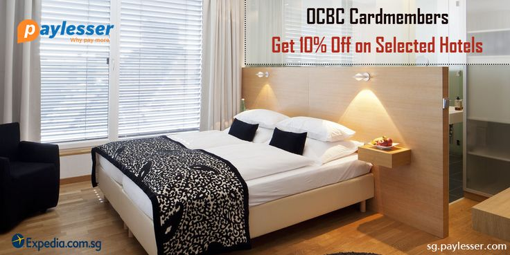 OCBC cardmembers - Get 10% OFF coupon on selected Hotels only at #Expedia. #Coupon #Paylesser   Why pay more?