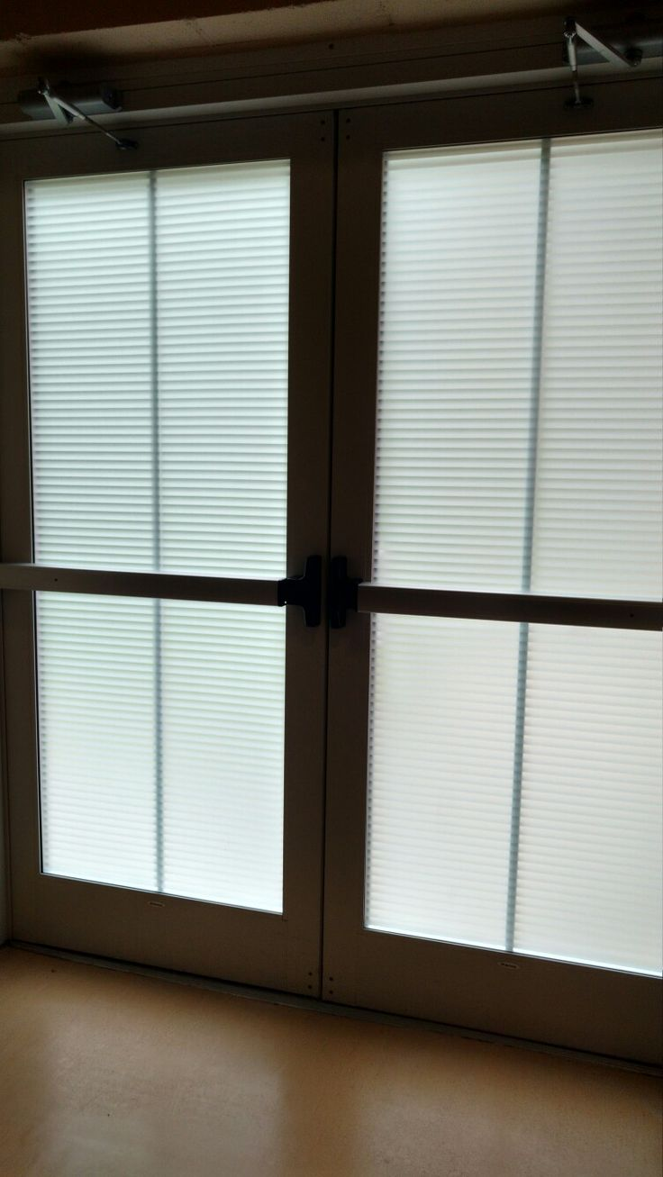 Mimimics Blinds On Entrance Doors