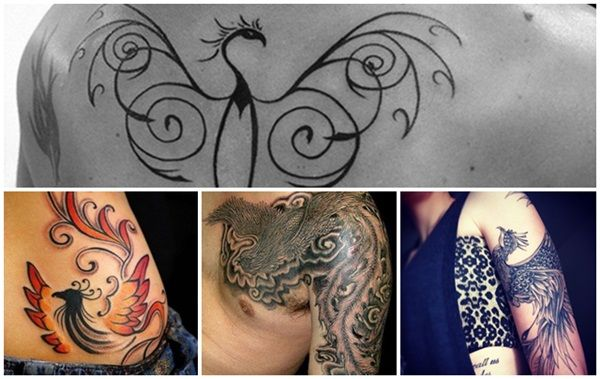 The style in which a phoenix tattoo is done depends on what you want it for. Some use it to show the evolution of the soul and body. Some use it show the letting of the past and moving on to the future.