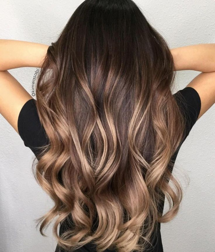 Style Me Nail Nail Brunette Hair With
