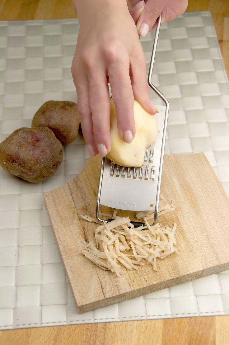 Grattugia Patate #igenietti Per tagliare le patate a fiammifero!