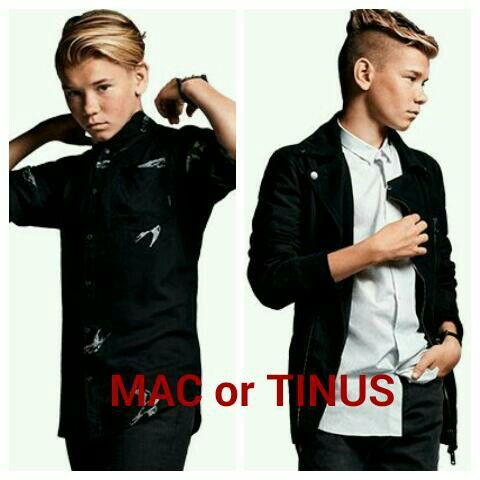 WHO LOVES TINUS AND WHO LOVES MAC.......DO A COMMENT RIGHT NOW!!!!!!!