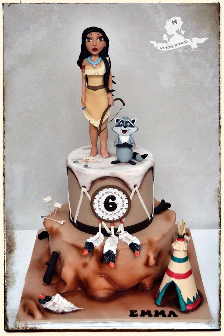 Pocahontas Party ⚜ themed cake