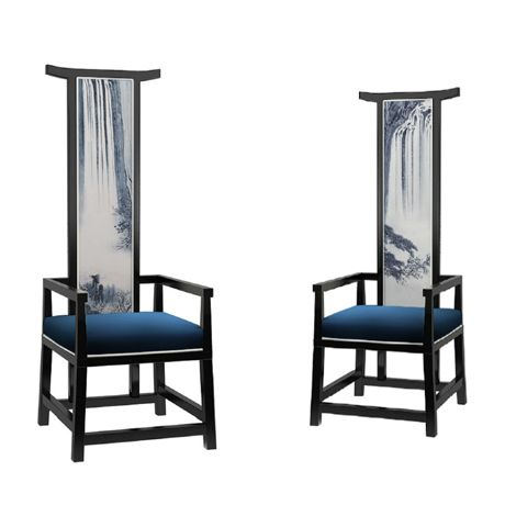 Wonderful Contemporary Chinese Furniture | The New Chinese Furniture Modern Chinese  Landscape Chair High Back .
