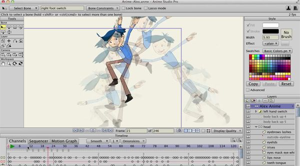 Anime Studio Enhanced For 2D Animation Creation The Latest Version Of Smith Micro Softwares Solution Adds Improved Smart Bones Dept