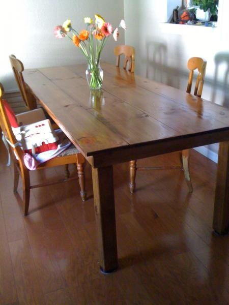 Dining Table, DIY