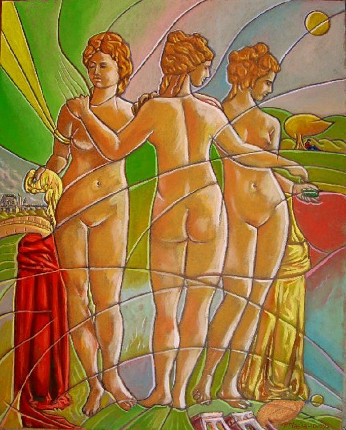 rappelant le Louvre_40 cm x 50 cm_quotaz 800 euro