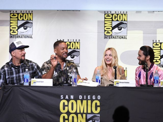 How Will Smith's Kids Are Reacting to His Suicide Squad Role: 'This Is the First Time Where I'm Cool for Real'  San Diego Comic-Con, Movie News, Jaden Smith, Jared Leto, Margot Robbie, Will Smith, Willow Smith