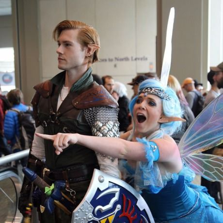 Link and Navi from ECCC