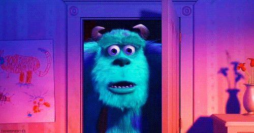 Cuando llegas a casa y tus compañeros de cuarto no están ahí. | 42 gifs de Disney para reaccionar ante cualquier situación
