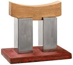 wolf glo ner skulptur kleines japanisches tor iii 2011 stahl und holz kunstobjekte. Black Bedroom Furniture Sets. Home Design Ideas