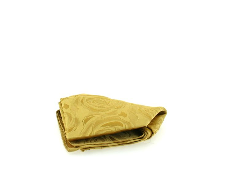 Soprano Ties - Gold Rose Silk Wedding Hanky - Gifts-WEHAN-GOLD Soprano Soprano Tie. These Soprano Silk Hankies are great to wear as every day smart dress, evening wear or as p