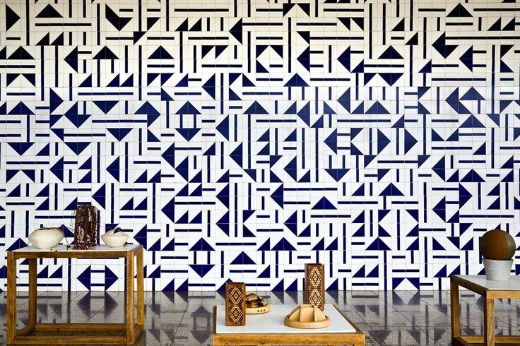 athos bulcão / painel de azulejos, museu de gemas torre de tv