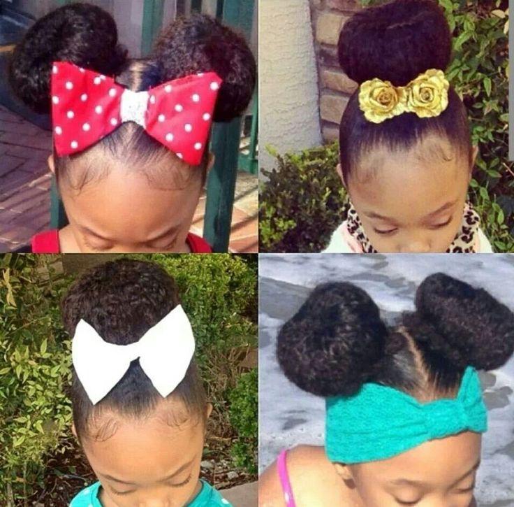 Teaching Little Black Girls To Show Their Hair Love & Care