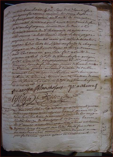 Will of Henry d'Hautpoul, Lord of Rennes