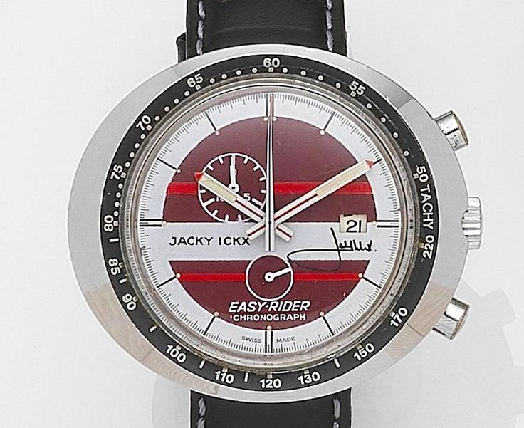 Jacky Ickx Easy-Rider Chronograph by Heuer