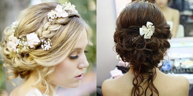 17 Best Images About Wedding Hair On Pinterest