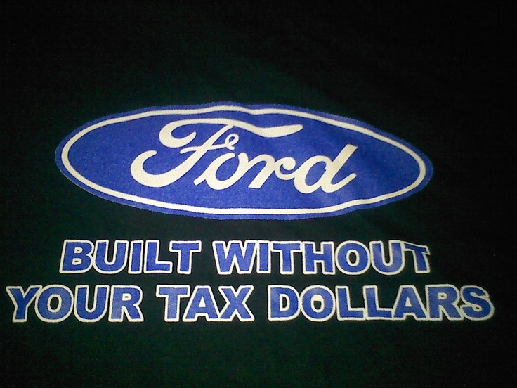 Not a great big ford fan, but this shirt is badass!