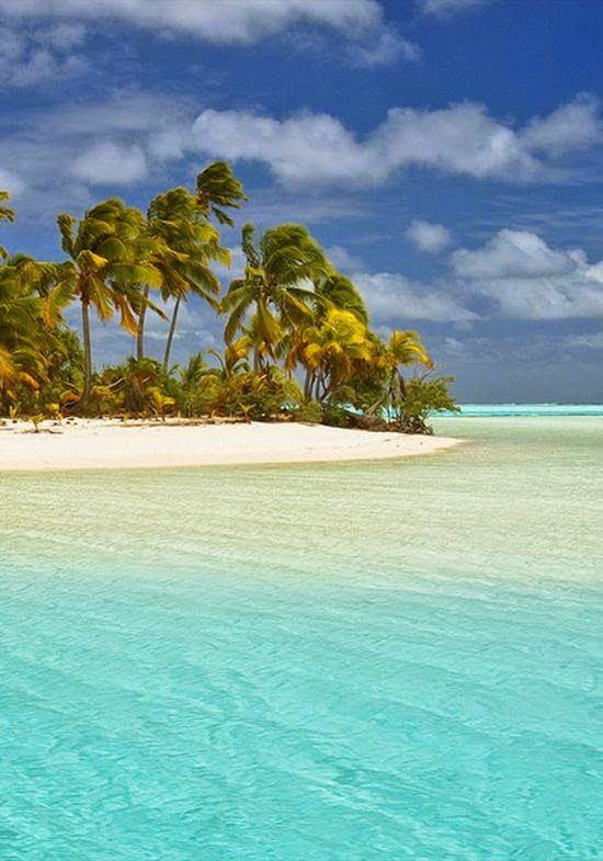 Dreamy nature , Aitutaki, Cook Islands