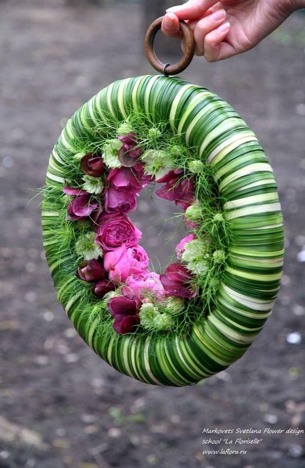 "Markovets Svetlana Flower design school ""La Floriselle"" www.laflora.ru"