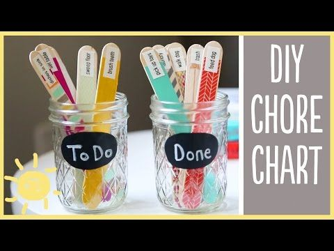 DIY | Chore Charts (cute and easy!!) - YouTube
