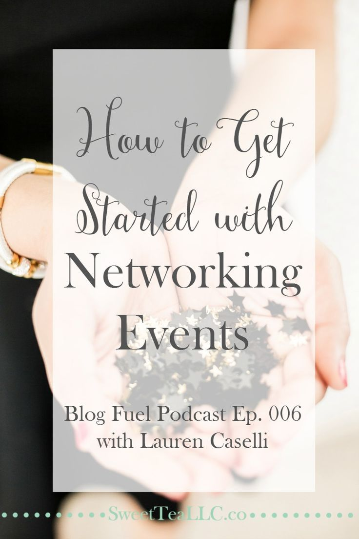 Networking events are great for bloggers & businesses who want to establish themselves as an authority and build a community. Lauren Caselli of Lauren Caselli Events shares the steps you need to take to create your own event, build a community to increase sales, and get sponsorships. Listen to Blog Fuel podcast Ep. 006.