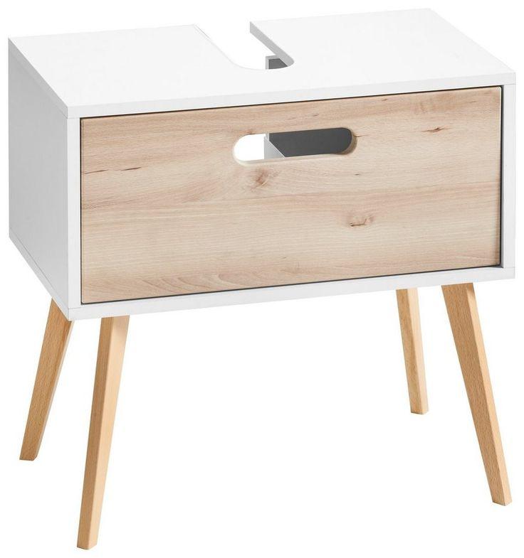 Held Möbel Waschbeckenunterschrank »Göteborg« für 169,99€. Hochwertige MDF-Fronten, Pflegeleichte Oberfläche, Soft-Close Funktion, Made in Germany bei OTTO