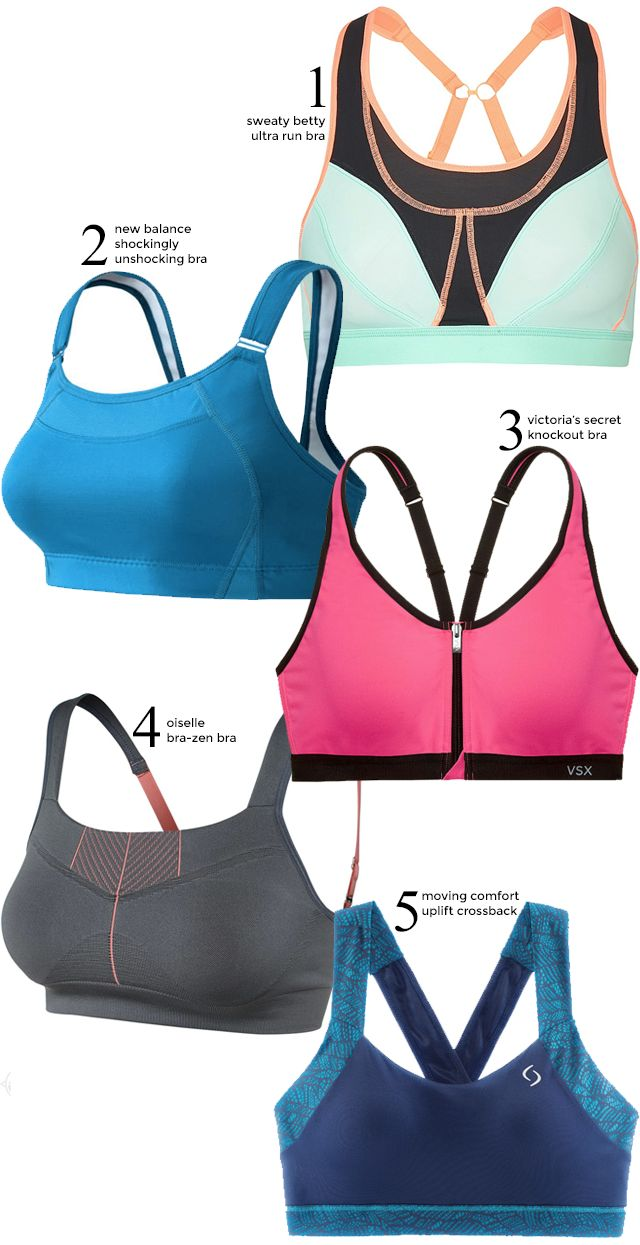 Five Best Supportive Sports Bras for High Impact