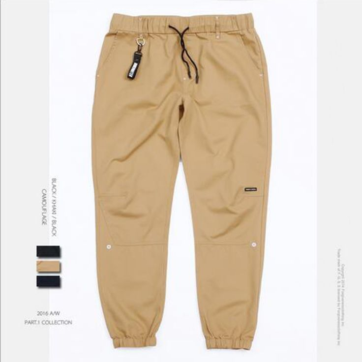 Sweatpants jogger for men binding foot pants mens joggers male pants casual slim feet solid color pants harem pants