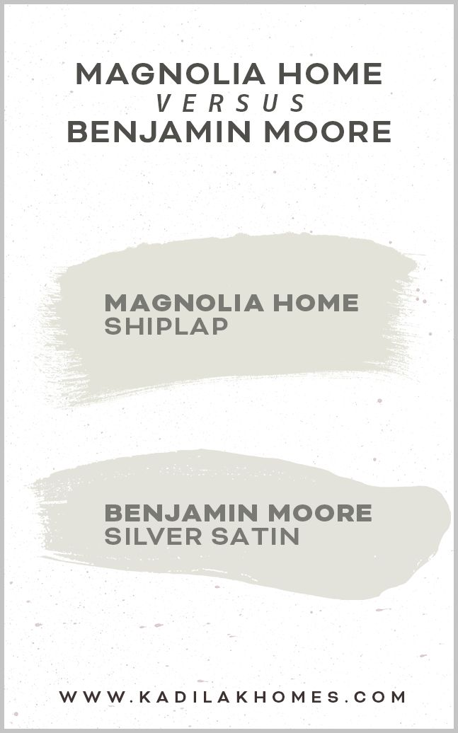 Magnolia Home Paint Color matched to Benjamin Moore | Magnolia homes paint, Matching paint colors, Magnolia home paint colors
