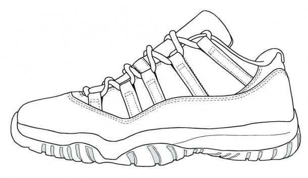 Yeezy Shoes Coloring Pages Trend