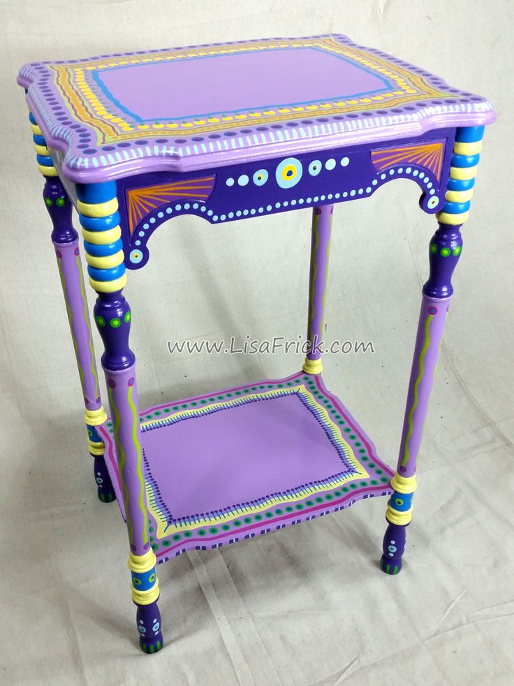 Funky Tables 733 best funky painted furniture images on pinterest | painted