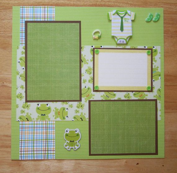 Best 25 baby boy scrapbook ideas on pinterest baby scrapbook layouts scrapbook ideas baby - Scrapbooking idees pages ...