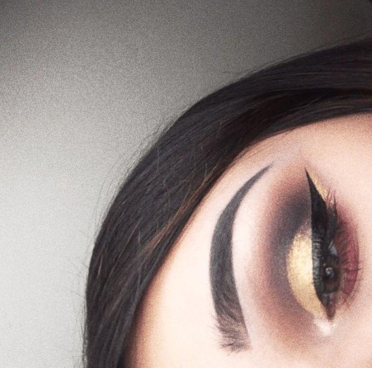 look done using Jeffree Star cosmetics Beauty Killer palette.