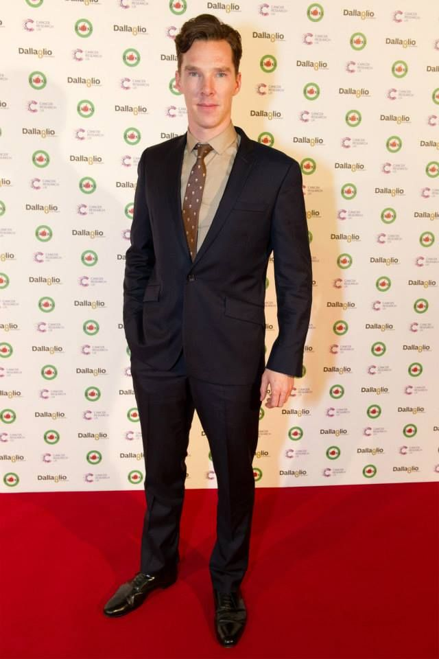 Benedict Cumberbatch attending Lawrence Dallaglio's annual #8Rocks event in aid of the @dallagliofdn supporting Cancer Research UK - 15/11 (...