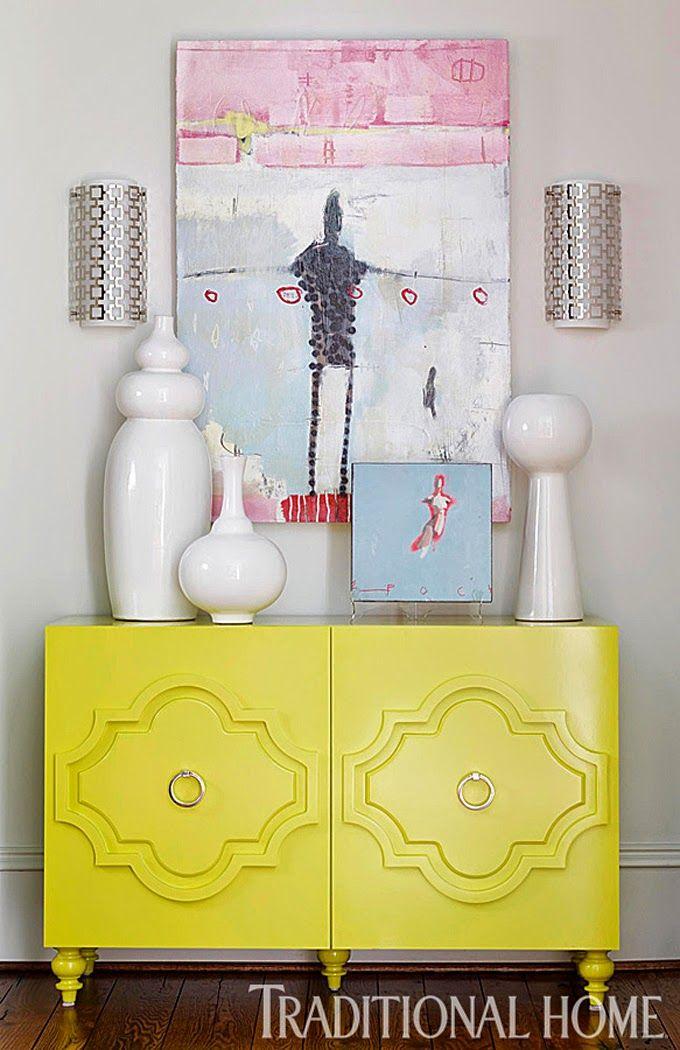 Yellow | Harmonious Living by Tish Mills Interiors